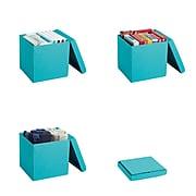 Poppin Box Seat, Aqua (102686)