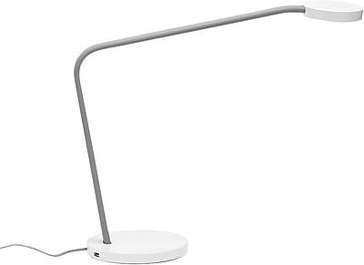 Poppin Limber LED Desk Lamp, Gray (101675)