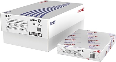"Xerox® Bold™ Coated Gloss Digital Printing Paper, 100 lb. Text, 8 ½"" x 11"", 2400/Case"