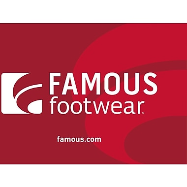 Famous Footwear Gift Card $50 (Email Delivery)