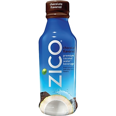 Zico® Natural Chocolate Coconut Water, 14 oz, 12/case