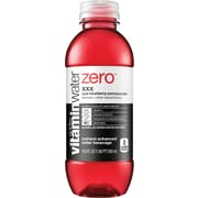Glaceau Vitaminwater®, Zero, XXX, Acai Blueberry Pomegranate, 16.9 oz., 24 Bottles/Case
