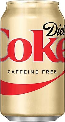 Caffeine-Free Diet Coke®, 12 oz. Cans, 24/Pack