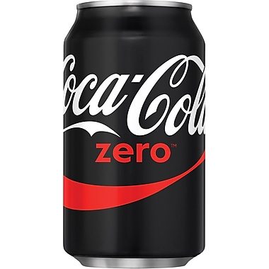 Coca-Cola Zero®, 12 oz. Cans, 24/Pack