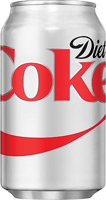 Diet Coke®, 12 oz. Cans, 12/Pack, 2 Packs/Carton
