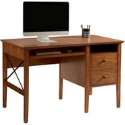 St. Clair Single Pedestal Desk w/ Antique Distressing