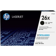 HP 26X Black Original LaserJet Toner Cartridge, High Yield , CF226X