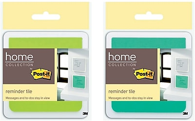 Post-it® Reminder Tile with Super Sticky Full Adhesive Notes, 3