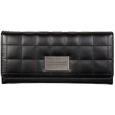 Club Rochelier Expander Clutch Wallet, Black