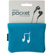 UT Wire Pocket for Earphone, Blue