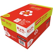 "Staples 100% Recycled Copy Paper, 8 1/2"" x 11"", Case"