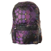 Cynthia Rowley Rip Stop Backpack, Cosmic Black Floral, Nylon (28781)