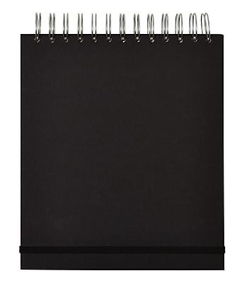Paperchase Black Kraft Jumbo Sprial NTBK