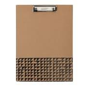 Paperchase Blk/Brown Kraft Padfolio