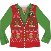 Ladies Ugly Xmas Vest S-XXL
