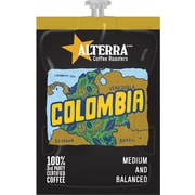 FLAVIA® Coffee ALTERRA® Colombia Freshpacks, Medium Roast, 100/Carton (MDRA180)