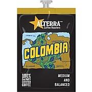 FLAVIA® ALTERRA® Colombia Coffee Freshpacks, Medium Roast, .28 oz., 100/Carton (MDRA180)