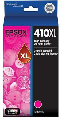 Epson 410XL Magenta Ink Cartridge, High Capacity (T410XL320)