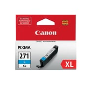 Canon CLI-271XL Cyan Ink Cartridge, (0337C001), High Yield