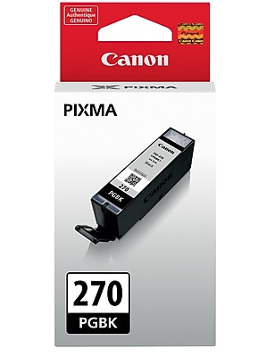 Canon PGI-270 Pigment Black Ink Cartridge, (0373C001)