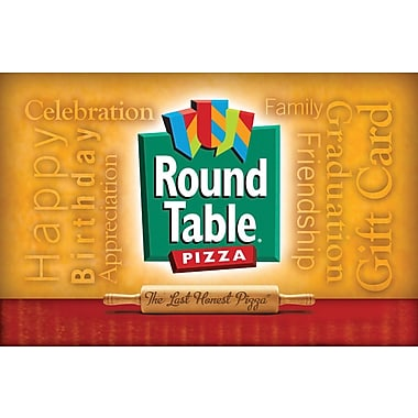 Round Table Pizza Gift Card $100 ( Email Delivery)