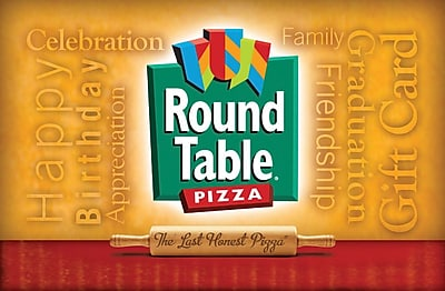 Round Table Pizza Gift Card $50 ( Email Delivery)