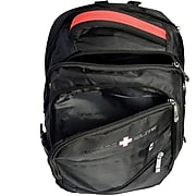 Swiss Elite Black Polyester Mobile Laptop Backpack (BBP.1039.61)