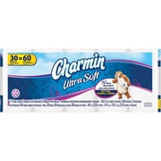 Charmin® Ultra Soft Toilet Paper, 2-Ply, 30 Double Rolls (80251783)