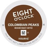 Keurig K-Cup Eight O'Clock Colombian Peaks Coffee Regular 24 K-Cups/Pack (6407)