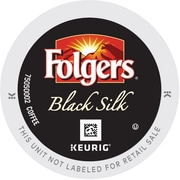 Keurig K-Cup Folgers Black Silk Coffee, Regular, 24 Pack