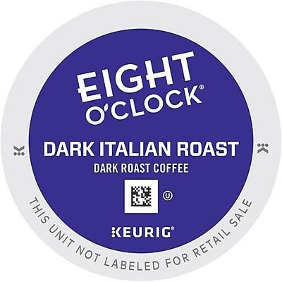 Keurig K-Cup Eight O'Clock Dark Italian Roast Coffee, Regular, 24 Pack