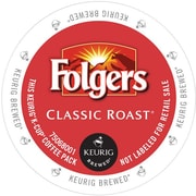 Keurig® Folgers® Classic Roast Coffee, Regular, 24 K-Cups/Box (6685)