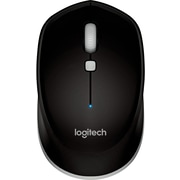 Logitech M535 Wireless Bluetooth Compact Optical Mouse, Ambidextrous, Black (910-004432)