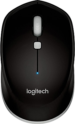 Logitech M535 Laser Wireless Bluetooth Mouse, Black (910-004432)