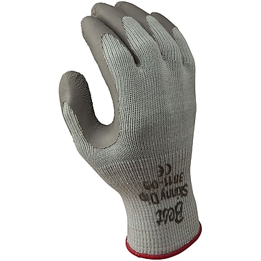Best Manufacturing Company Gray Palm Coated 12/Pack Cotton Glove, XL