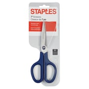 "Staples® 7"" Scissors, Navy"