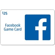 Facebook Gift Card $25 (Email Delivery)