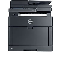 Dell H825CDW Wireless Color Laser All-In-One Printer with Duplex (Black)
