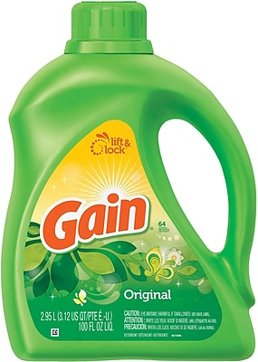 Gain® Liquid Laundry Detergent, Original, 100 oz.