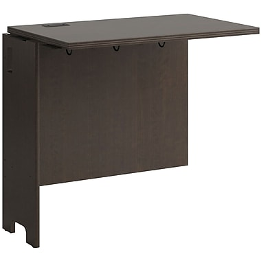 Bush Business Envoy 32W Desk Return, Mocha Cherry