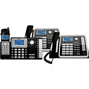 RCA 2521HSBNDL 2-Line Corded/Cordless Bundle with Answering System