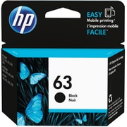 HP 63 Black Ink Cartridge, F6U62AN#140