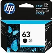 HP 63 Black Standard Yield Ink Cartridge (F6U62AN#140)