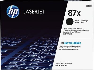 HP 87X High Yield Black Original LaserJet Toner Cartridge, CF287X