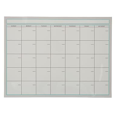 office by martha stewart dry erase monthly calendar - Dry Erase Calendar