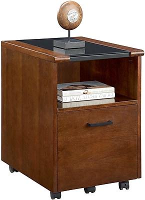 Whalen Sorano 1 Drawer Mobile/Pedestal File, Cherry,Letter/Legal, 16''W (SPUS-SWRF)