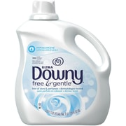Ultra Downy® Free & Gentle™ Liquid Fabric Softener, 129 oz.
