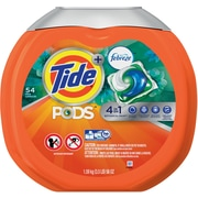 Tide® PODS HE Laundry Detergent with Febreze, Botanical Rain, 54 Pods/Pack