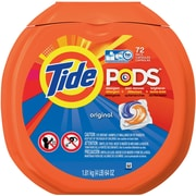 Tide® PODS High-Efficiency Washer Laundry Detergent, Original Scent, 72 Pods/Pack