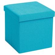 Poppin Box Seat, Pool Blue (101562)